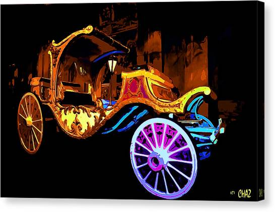 Royal Carriage Canvas Print