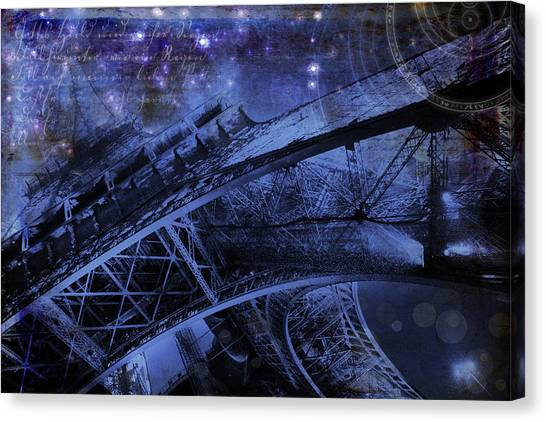 Royal Eiffel Tower Canvas Print