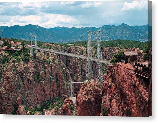 Royal Gorge Bridge Canvas Print