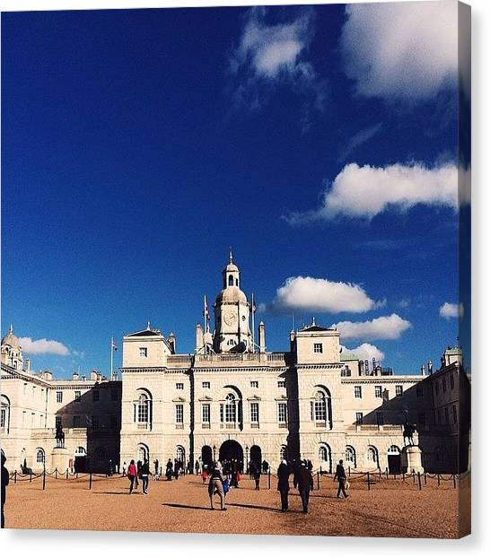 Royal Guard Canvas Print - Royal Horse Guards #vscocam by Liam Daly