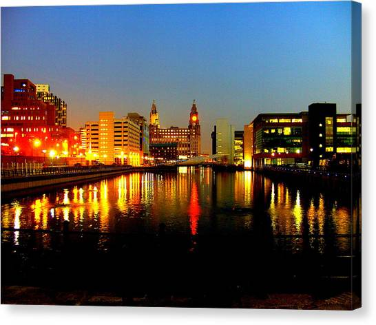Royal Liver Building Liverpool  Canvas Print