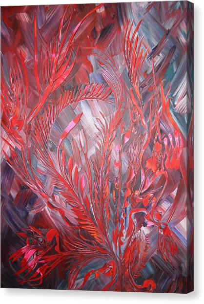 Royal Canvas Print by Nico Bielow