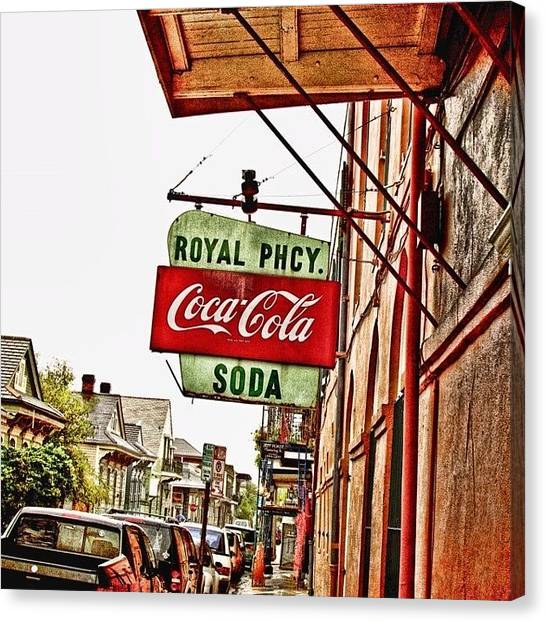 Surrealism Canvas Print - Royal Pharmacy  by Scott Pellegrin