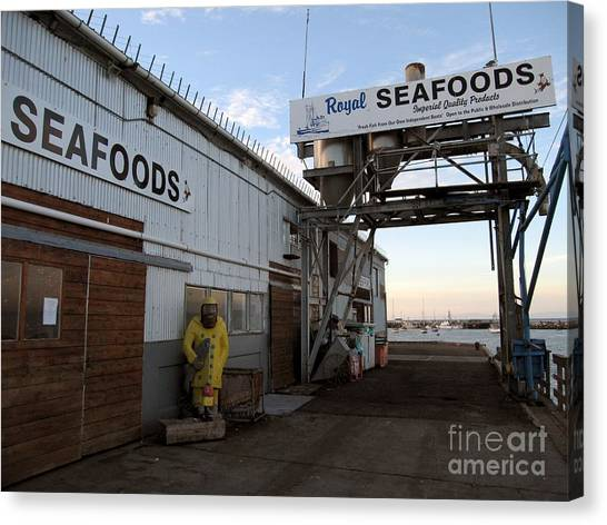Royal Seafoods Monterey Canvas Print