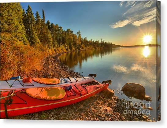 Royale Sunrise Canvas Print