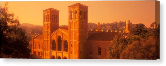 Ucla Canvas Print - Royce Hall At An University Campus by Panoramic Images