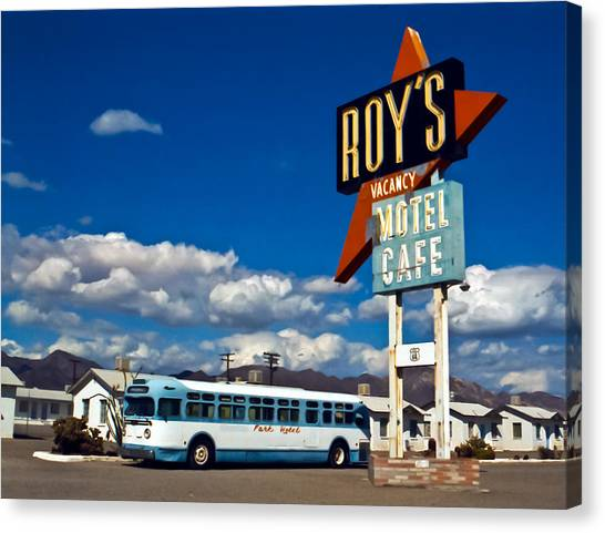 Roy's 2002 Canvas Print