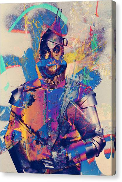 Rubber Tin Man  Canvas Print
