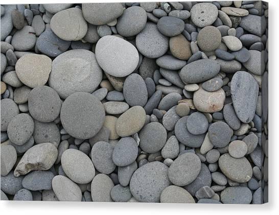 Ruby Beach Pebbles Canvas Print