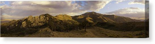 Ruby Mountain Panorama Canvas Print