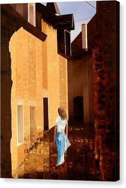 Rue De L'art Canvas Print by Laurend Doumba
