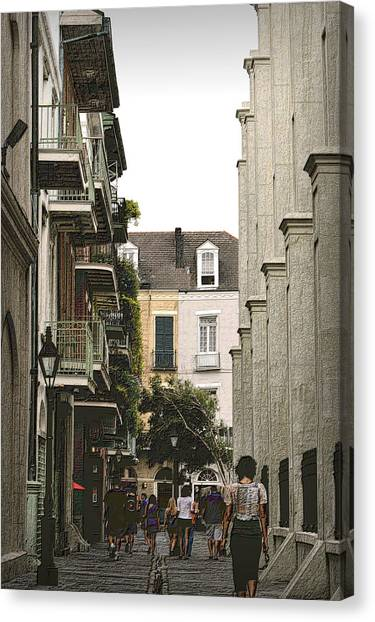 Pere Antoine Alley Canvas Print