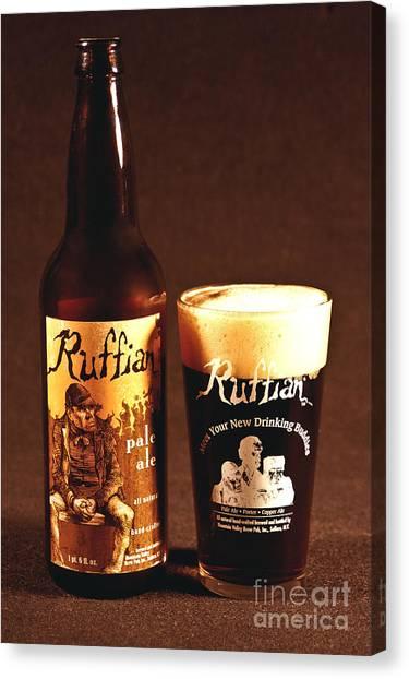 Ruffian Ale Canvas Print