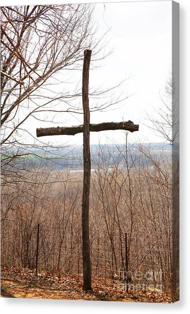 Rugged Cross Canvas Print