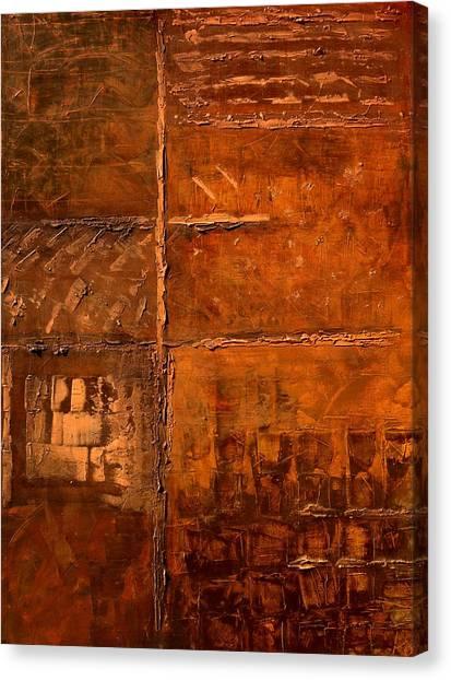 Rugged Cross Canvas Print