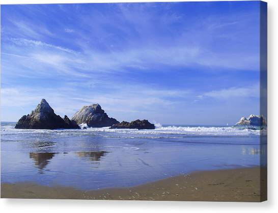 Rugged Reflections Canvas Print