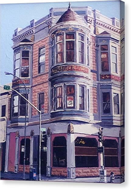 Ruhstaller Building Canvas Print by Paul Guyer