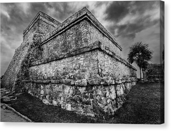 Ruin At Tulum Canvas Print