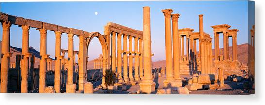 Syrian Canvas Print - Ruins, Palmyra, Syria by Panoramic Images