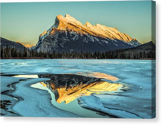Rundle Reflection Canvas Print