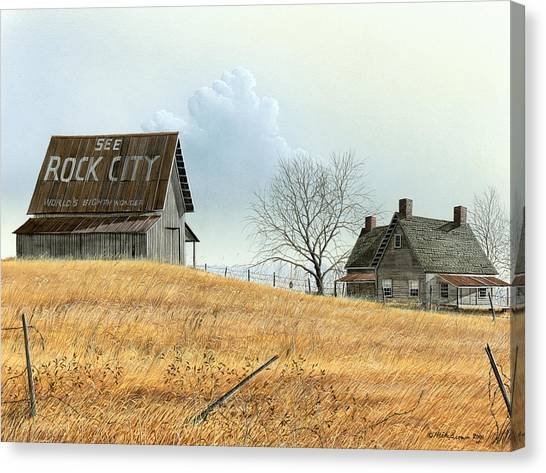 Rural America Canvas Print