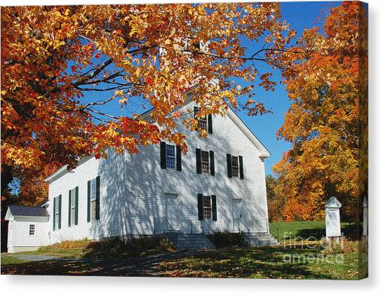 Autumn Worship Canvas Print