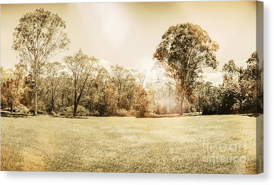 Sunrise Horizon Canvas Print - Rural Australian Landscape by Jorgo Photography - Wall Art Gallery