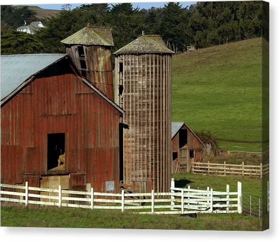 Rural Barn Canvas Print
