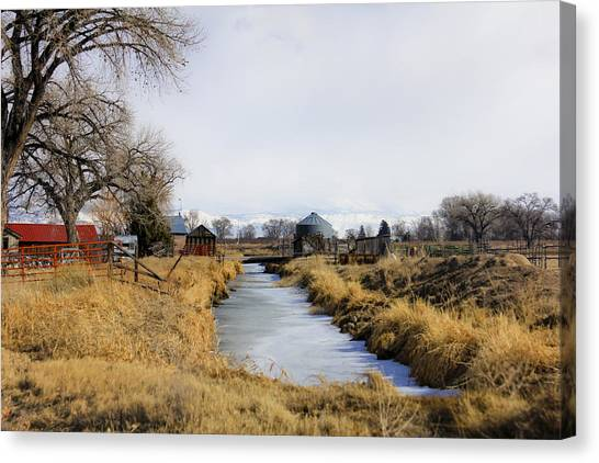 Rural Colorado Canvas Print