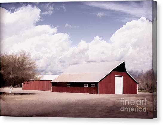 Rural Highway 99 Canvas Print