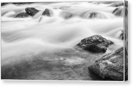 Rushing By Canvas Print