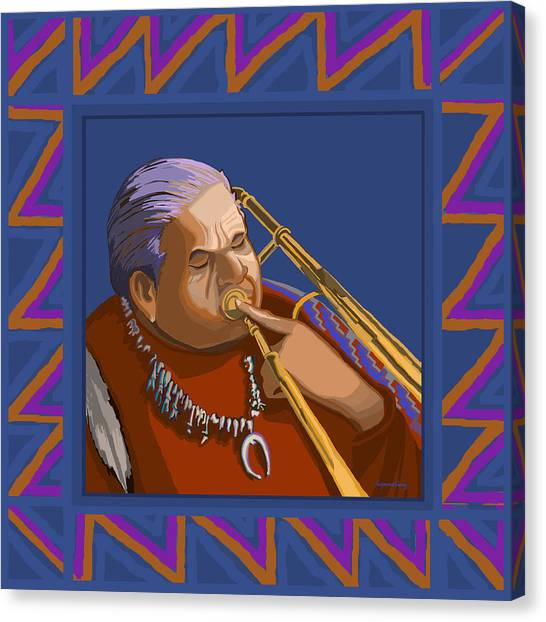 Russell Big Chief Moore Canvas Print