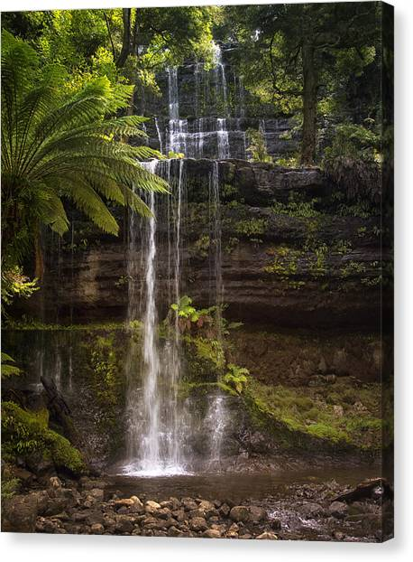 Russell Falls Canvas Print