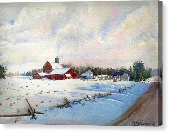 Russel's Ranch Canvas Print