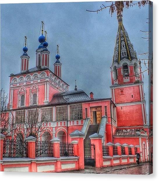 Orthodox Art Canvas Print - #russia #kalugacity#russianpics by Helen Vitkalova