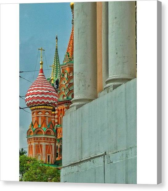 Orthodox Art Canvas Print - #russia #moscowmoscow #orthodox by Helen Vitkalova