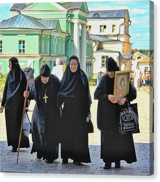 Orthodox Art Canvas Print - #russia #orthodox #church by Helen Vitkalova