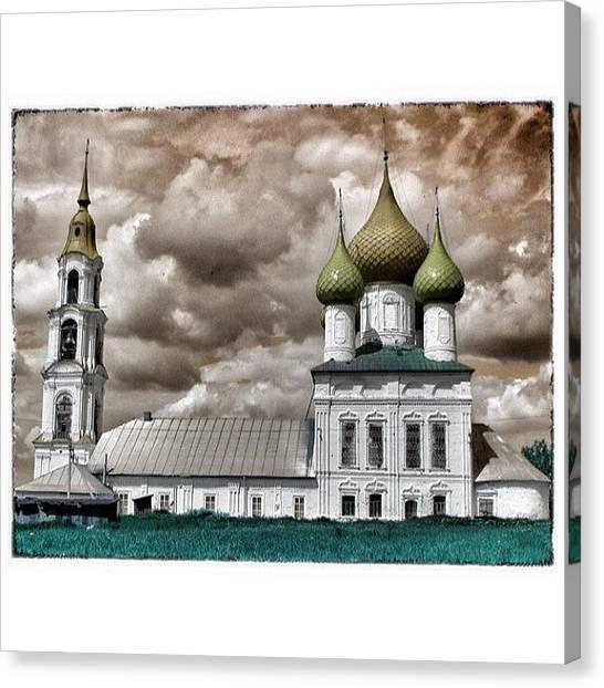 Orthodox Art Canvas Print - #russia #russia_ww #russianphotolook by Helen Vitkalova