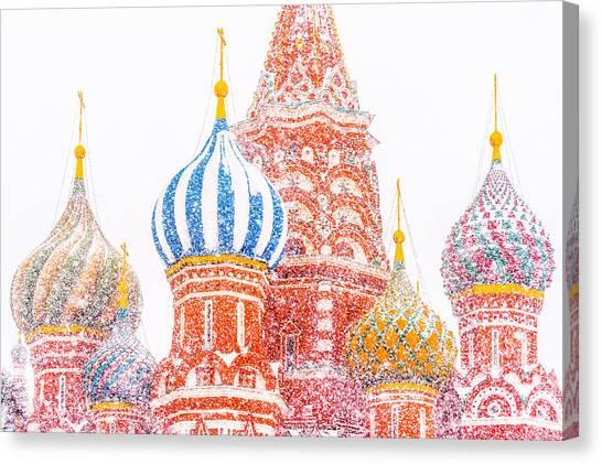 Russian Winter Canvas Print