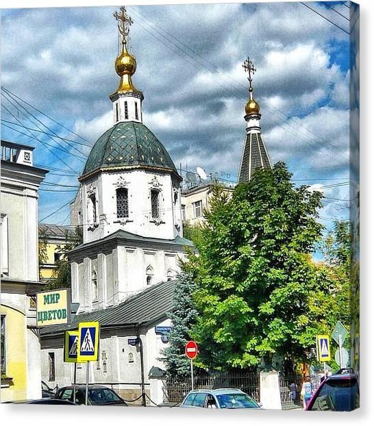 Orthodox Art Canvas Print - #russia#russianphotolook by Helen Vitkalova