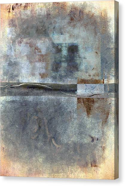 Weathered Canvas Print - Rust And Walls No. 1 by Carol Leigh