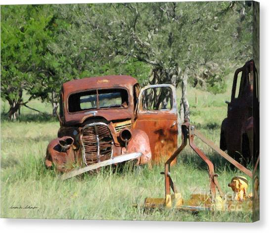 Rust In Peace No. 5 Canvas Print