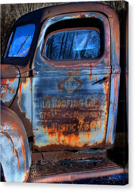 Rust Never Sleeps Canvas Print by Wayne King