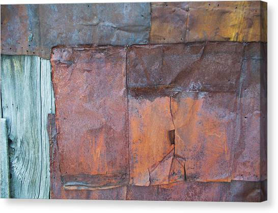 Rust Squared Canvas Print