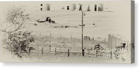 Rust Wind And Time Are Not Kind Canvas Print