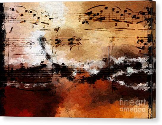 Rusted Desert Harmony Canvas Print