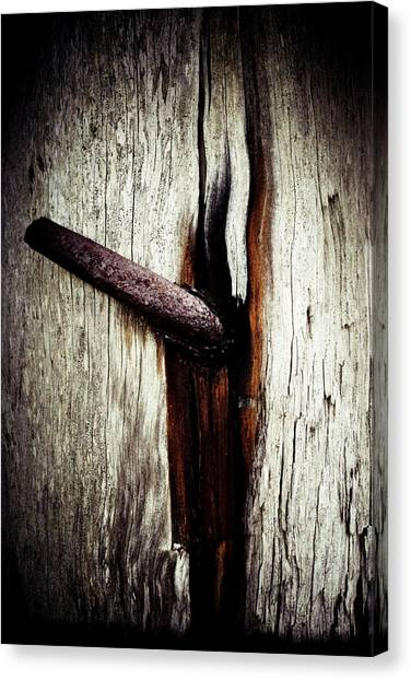 Rusted Time Canvas Print