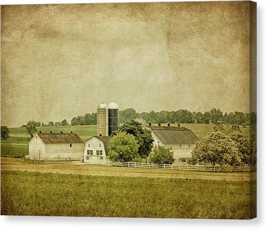Rustic Farm - Barn Canvas Print