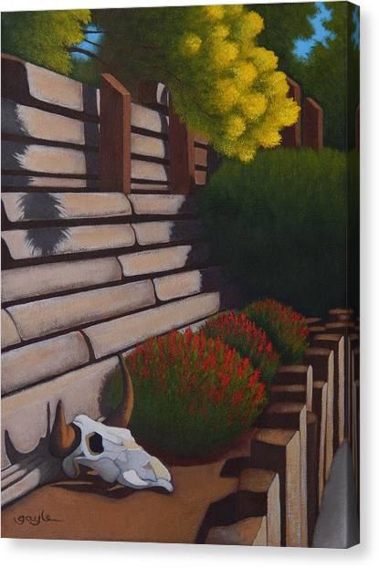 Rustic Garden Canvas Print