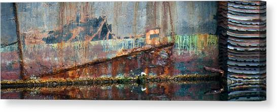 Canvas Print featuring the photograph Rustic Hull by Jani Freimann